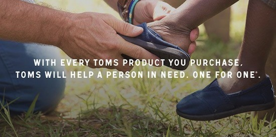 toms shoes USP