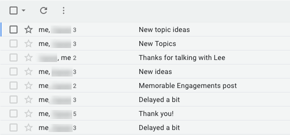 conversation view in gmail