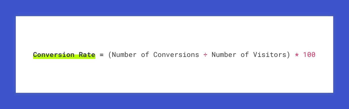 conversion rate calculation for sales execs