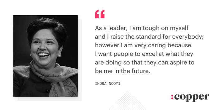 leader quote by indra nooyi