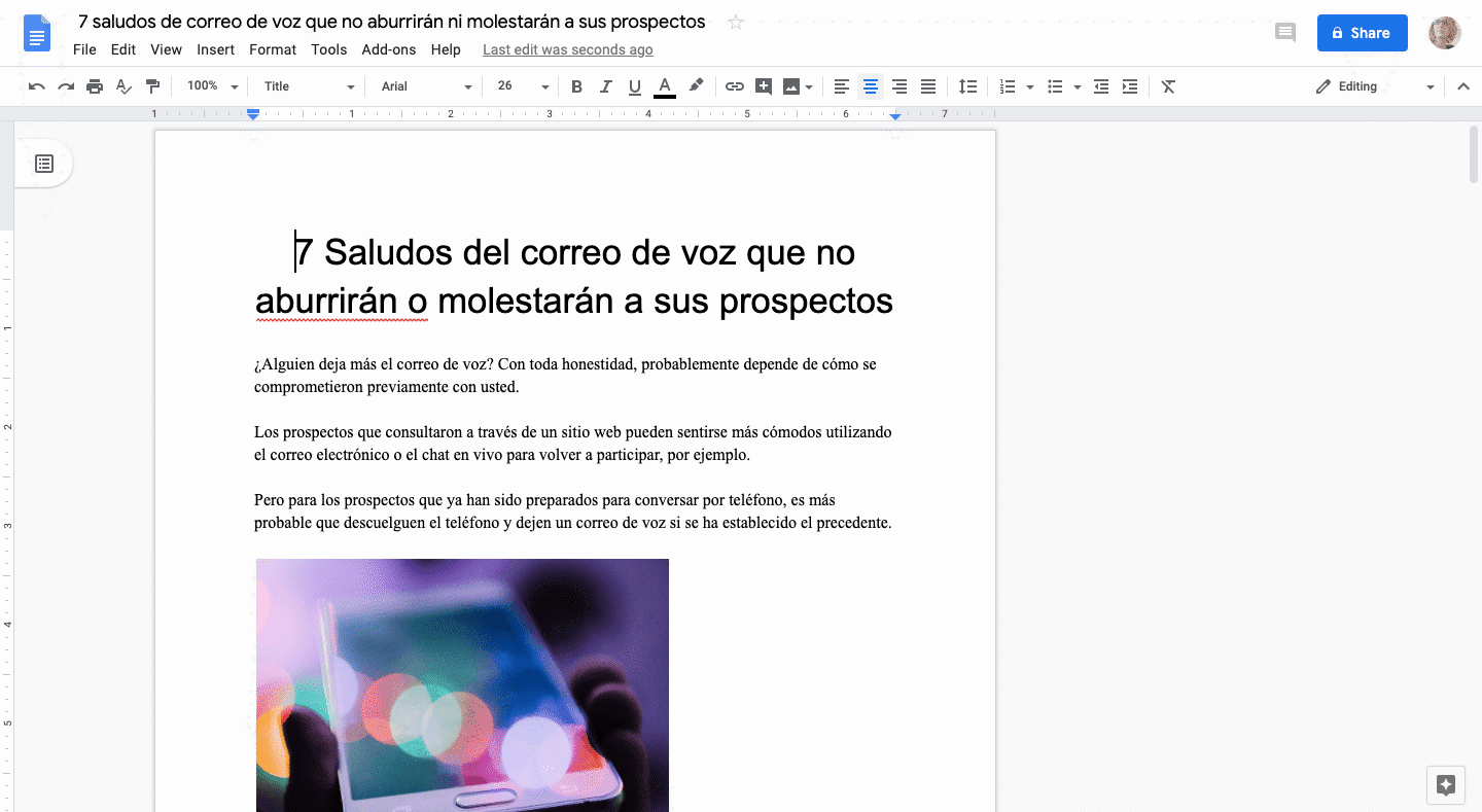 translated google doc