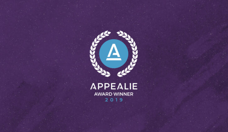 We're a 2019 Overall SaaS Award Winner!