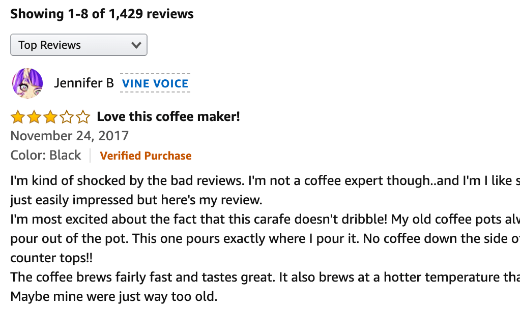 amazon vine voice review