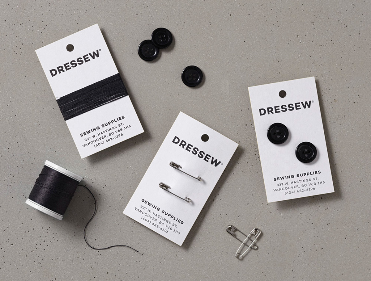 dressew business card
