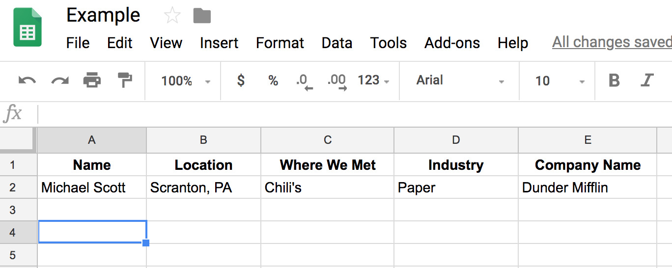 example of mail merge spreadsheet for sales emails