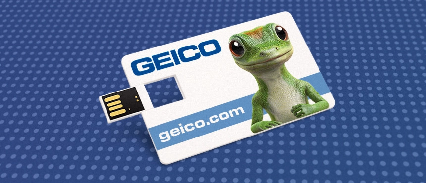 geico business card