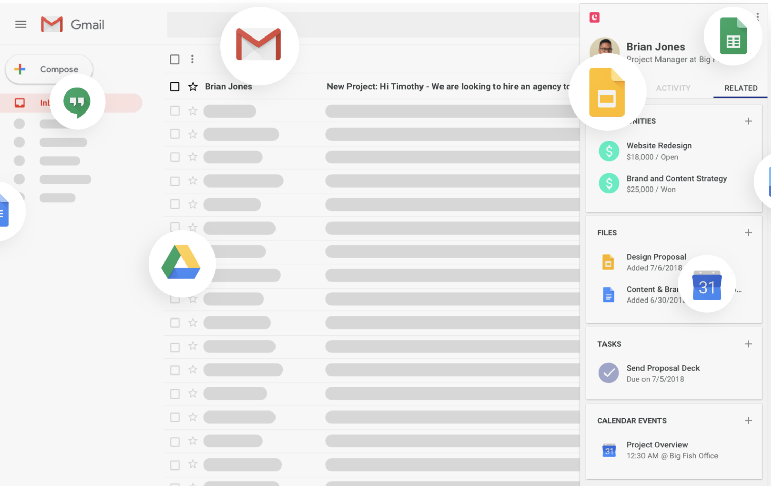 gmail inbox example