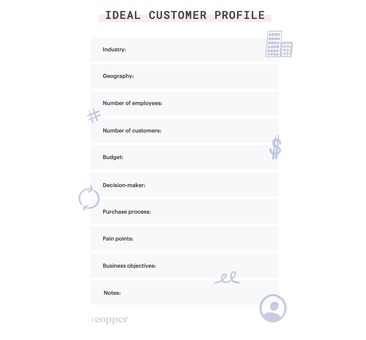 Ideal Customer Profile Template