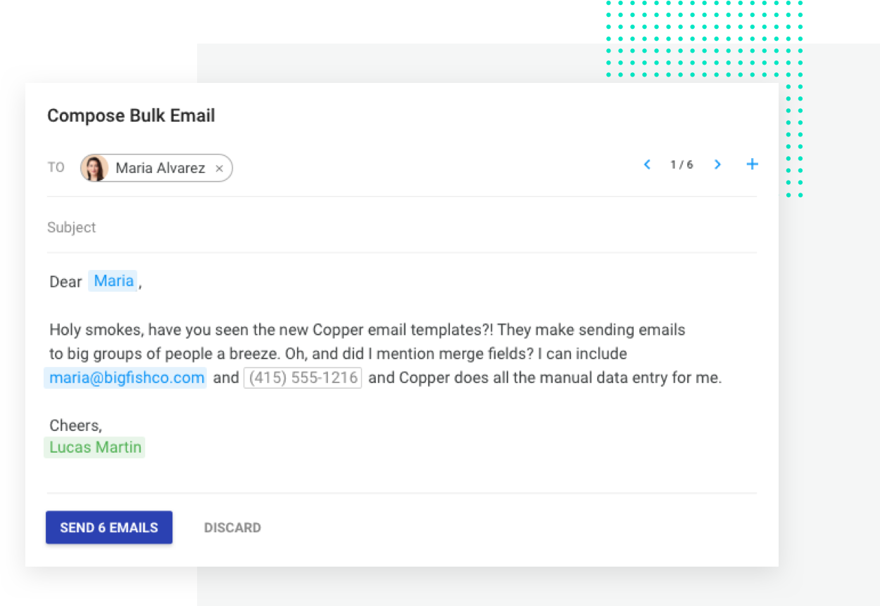 Send Bulk Emails Lead Tracking