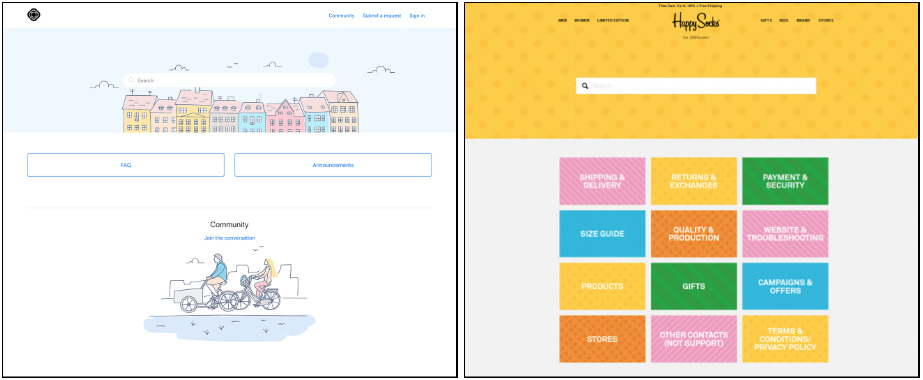 zendesk mockups as demos for big customers