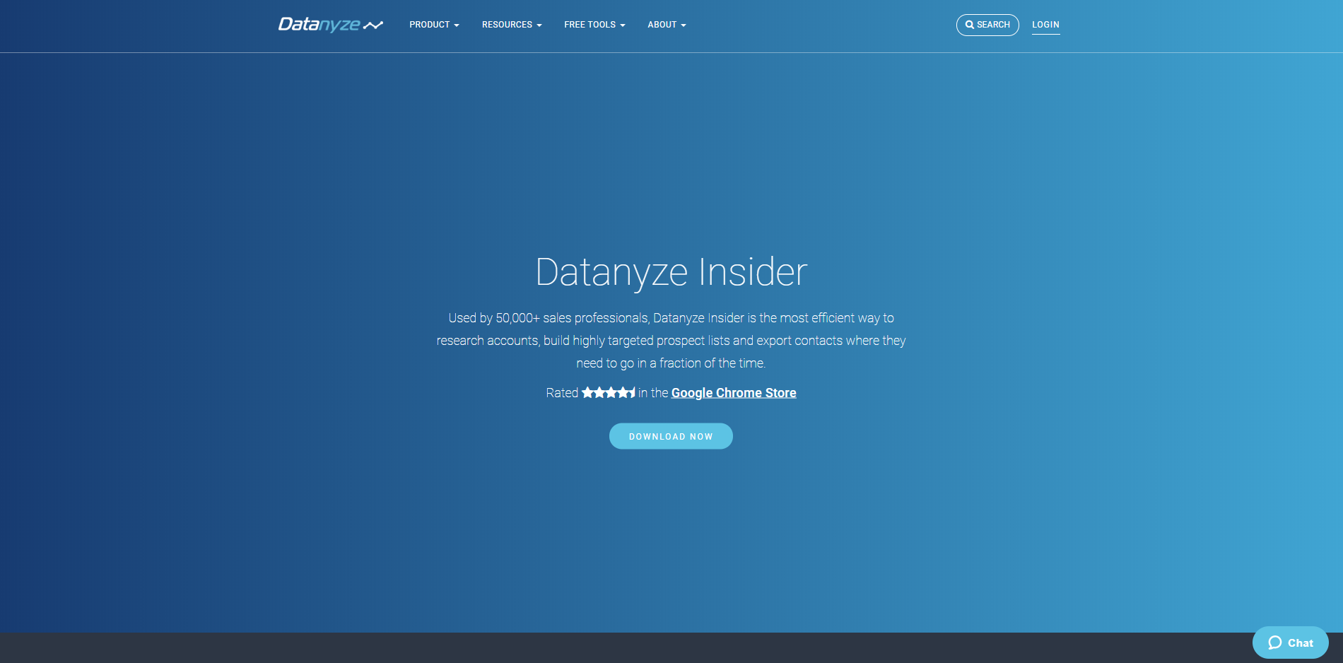 datanyze insider chrome extension sales productivity tool
