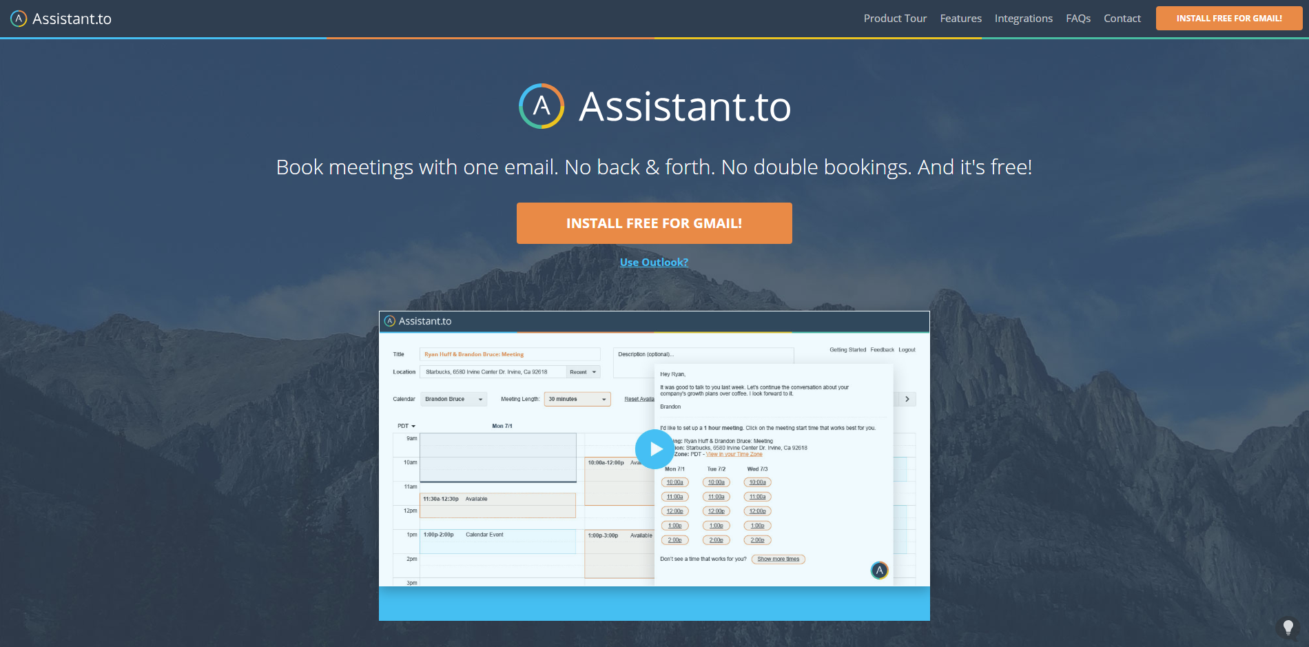 Assistant.to virtual assistant sales productivity tool