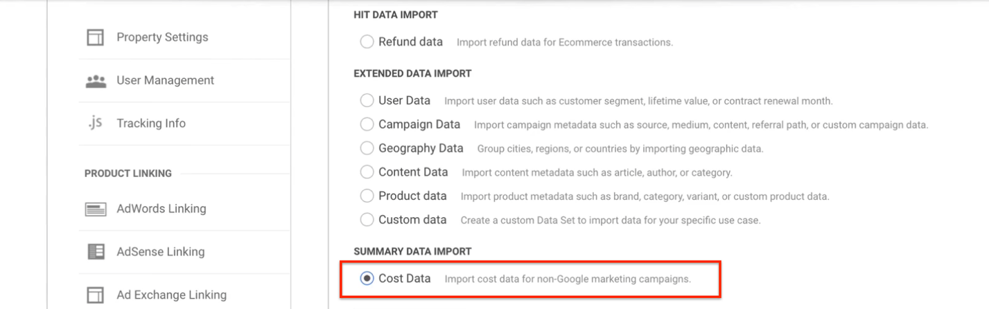 cost analysis marketing metrics.