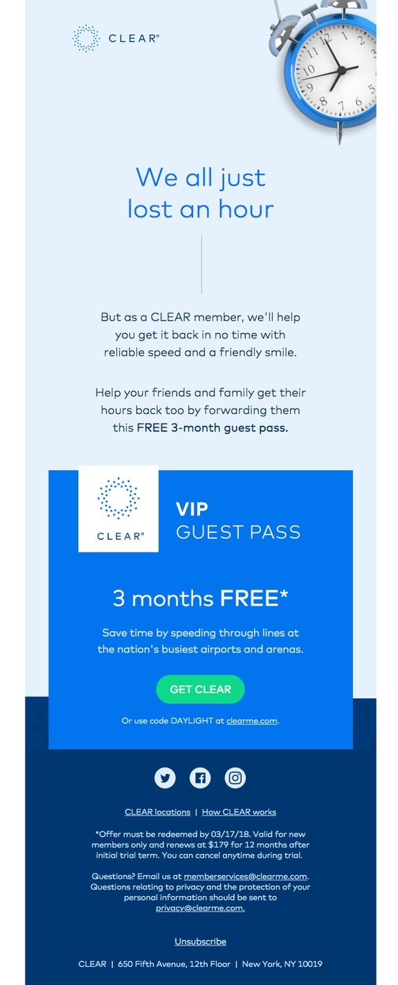clear referral discount