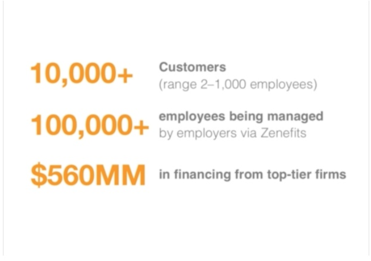 zenefits sales deck